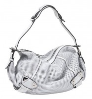 B Makowsky Perforated Hobo