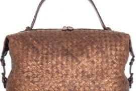 Bottega Veneta Settantasei Ostrich Bag