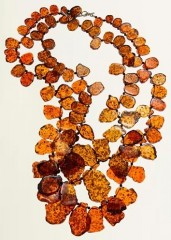 Darby Scott Amber Bib Necklace