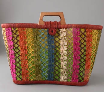 Mad Imports Ile. Ste. Marie Straw Tote
