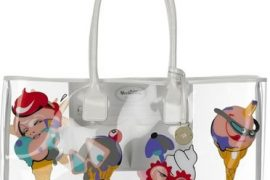 Julie Verhoeven's Mulberry Ice Cream Clear Tote