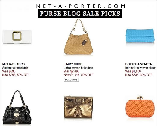 Purse Blog NAP Sale Picks