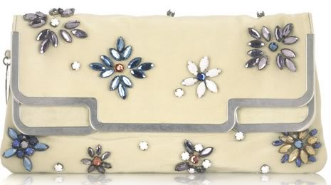 Stella McCartney Gem Embellished Clutch