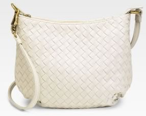 Bottega Veneta Mini Woven Shoulder Bag