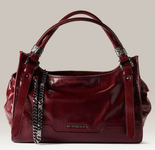 Burberry Leather Satchel