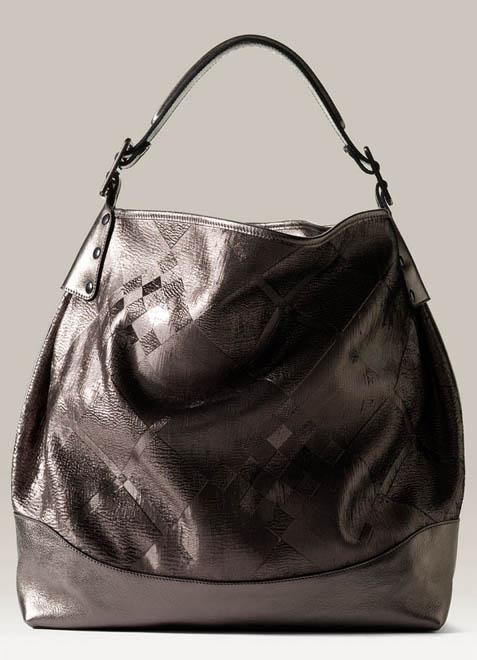 2f5240ea218d Burberry Metallic Leather Hobo - PurseBlog