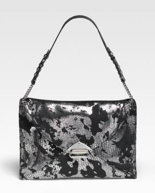 Jimmy Choo Cara Suede Evening Bag