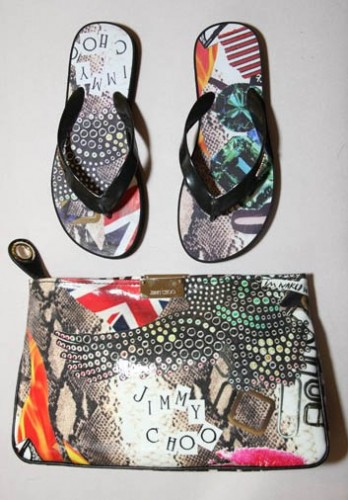 Jimmy Choo creates a collection for the Elton John AIDS Foundation