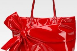 Valentino Bow Shopping Tote