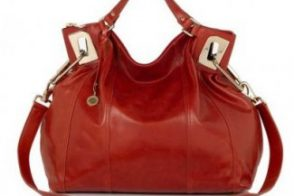 DKNY Glazed Calf Large Shopper