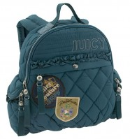 Juicy Couture Back to School Quilted Backpack