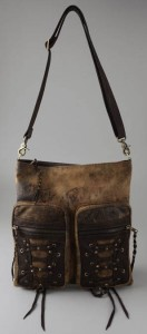 Kettle Black Distressed Bag