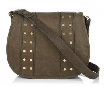 Tory Burch Studded Messenger Bag