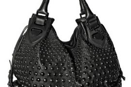 Bally Studded Top Handle