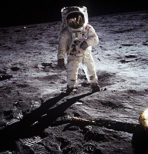 "Edwin ""Buzz"" Aldrin, photographed by Neil Armstrong"