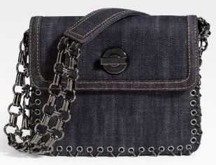 Emilio Pucci Denim Shoulder Bag