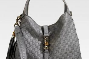 Gucci New Jackie Guccissima Shoulder Bag