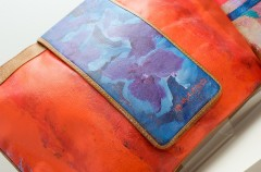 LaLucca Red Lava (Art Bag Collection), $680