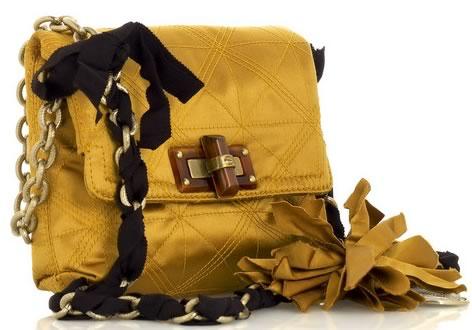 Lanvin Happy Mini Pop Satin Bag
