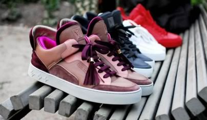 Louis Vuitton and Kanye West Sneakers