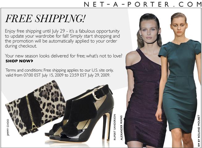 57e96cba3505c Net A Porter Free Shipping - PurseBlog