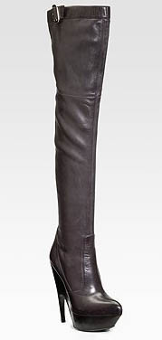 Yves Saint Laurent Over The Knee Boots