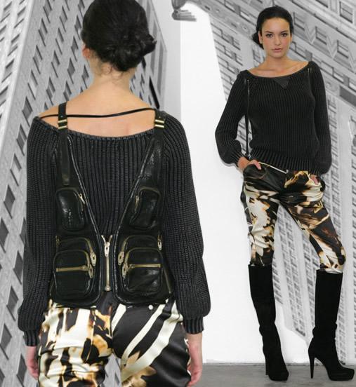 Alexander Wang Bianca Vest Bag on model