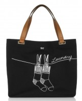 Anya Hindmarch Laundry Canvas Tote