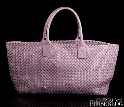 Bottega Veneta Cabat in Lilac