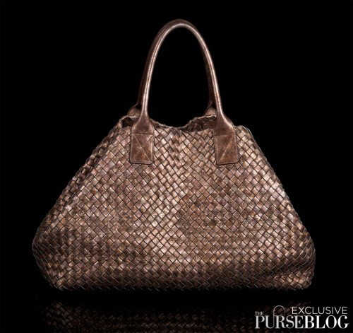 Bottega Veneta Limited Edition Reflet Cabat - Folded