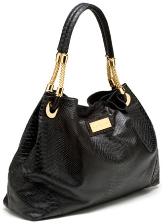 CC Skye Ashley Python Shoulder Bag