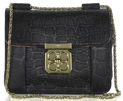 Chloe Elsie Lurex Shoulder Bag
