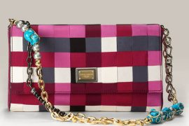 Dolce & Gabbana Miss Charleston Chain Flap Bag