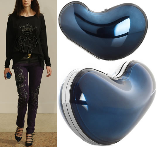 Emilio Pucci Bean Shaped Clutch