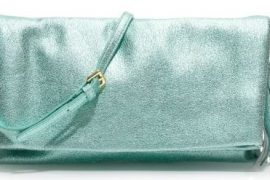 J. Crew Metallic Lexi Clutch
