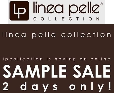 Linea Pelle Sample Sale