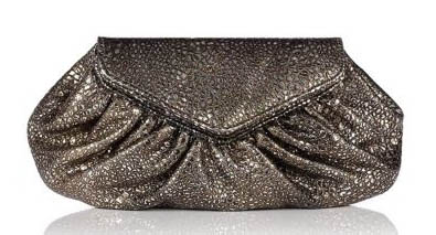 Lauren Merkin Diana Metallic Bubble Clutch