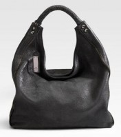 Michele Inez Leather Hobo