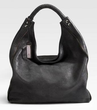 Michele Inez Leather Hobo