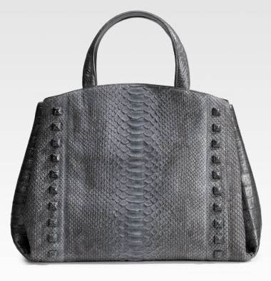 Nancy Gonzalez Python Crocodile Satchel