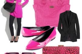 "Think ""HOT"" Pink for Fall Accessories"