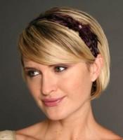 Triple 7 Global Bow Feather Headband