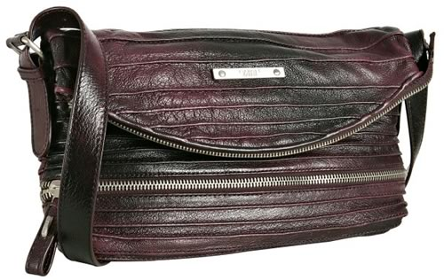 Tulah Ray Split Flap Messenger Bag