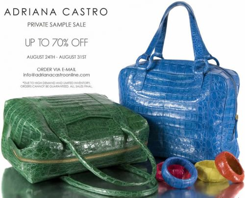 Adriana Castro Private Sample Sale