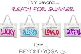 "Giveaway: Beyond Yoga ""I am Beyond…"" Tote"