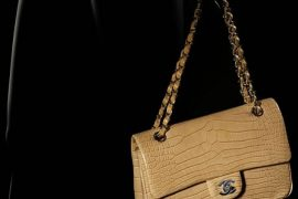 Chanel Classic Alligator Bag