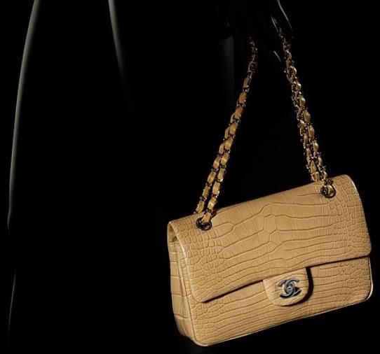 Chanel Classic Alligator Bag