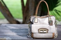 Coach Kristin Embossed Zip Top Tote - $1,000