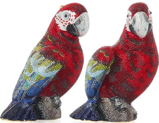 Judith Leiber Parrot Clutch