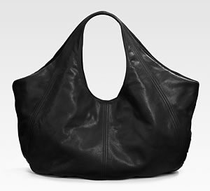 B-Low the Belt Leather Hobo